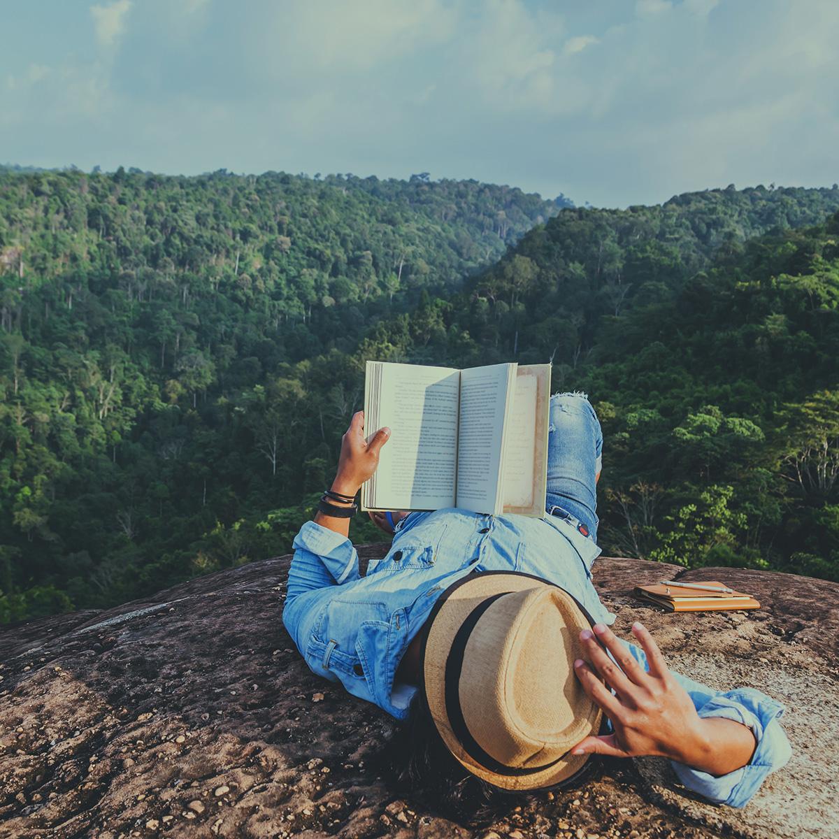 Avslappnande läsning
