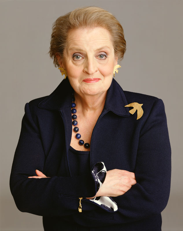 Madeleine Albright (Photo by Timothy Greenfield-Sanders/Corbis via Getty Images)