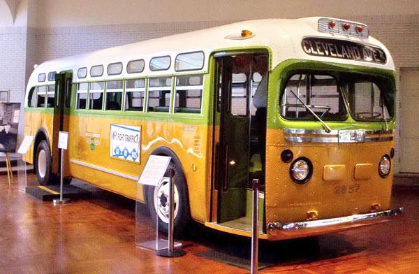Rosa Parks buss