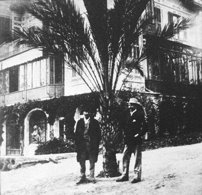 Alfred Nobel, San Remo 1896