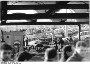 Berlinmuren - Gränsövergången vid Bornholmer Straße