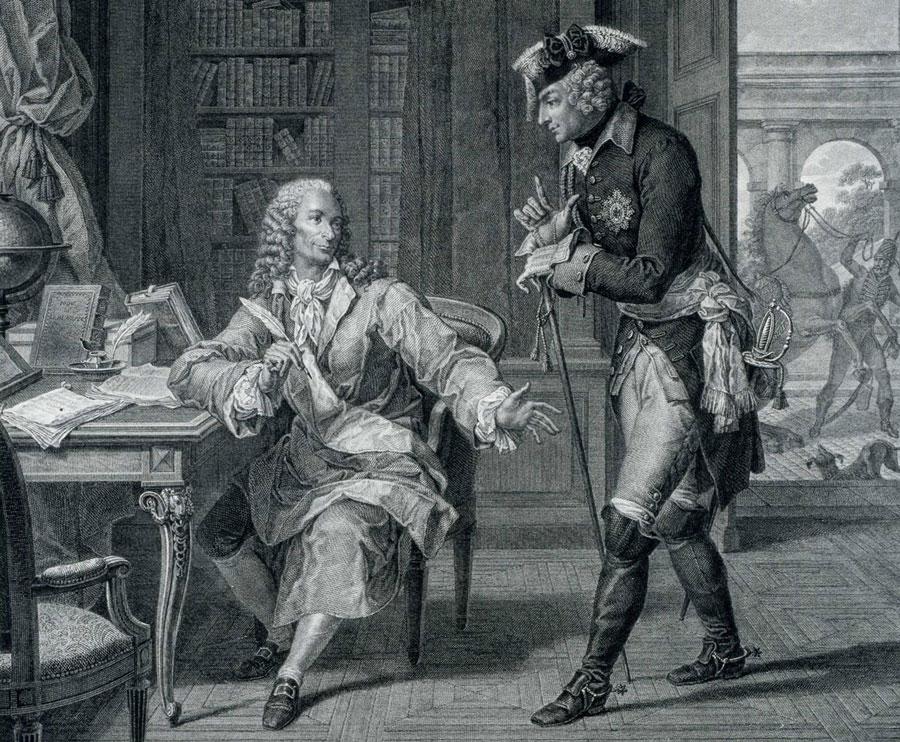 Voltaire & Fredrik den Store