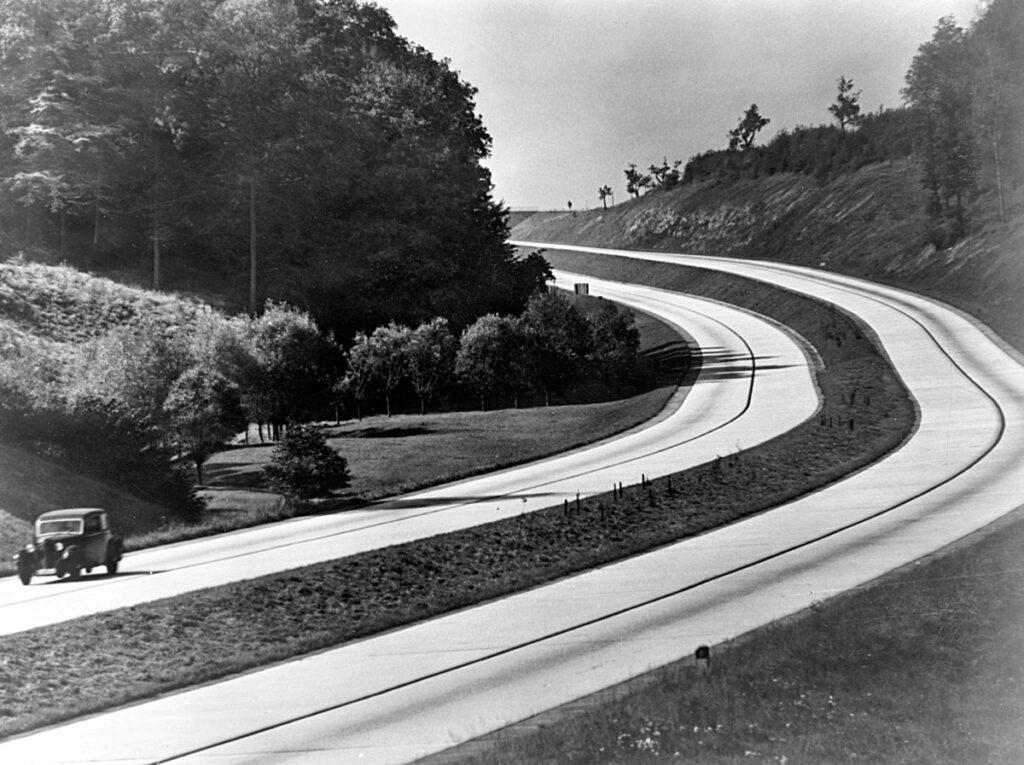 Autobahn på 1930-talet