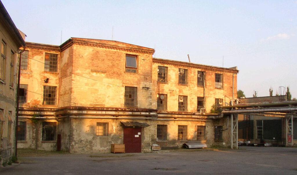 Emelie och Oskar Schindler - fabriken i Tjeckien