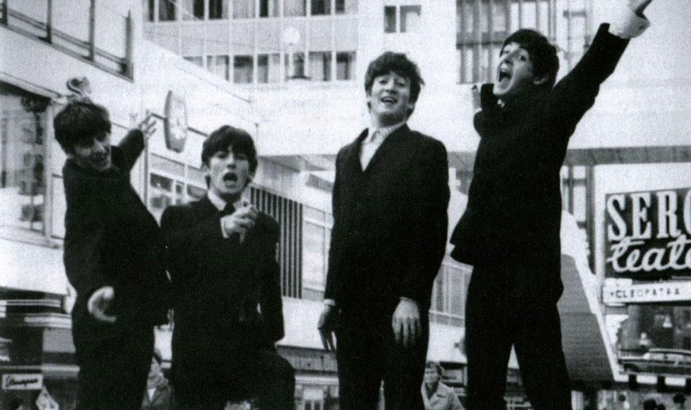 Beatles i Stockholm 1963