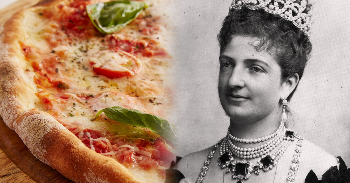 Margherita: Drottning och pizza