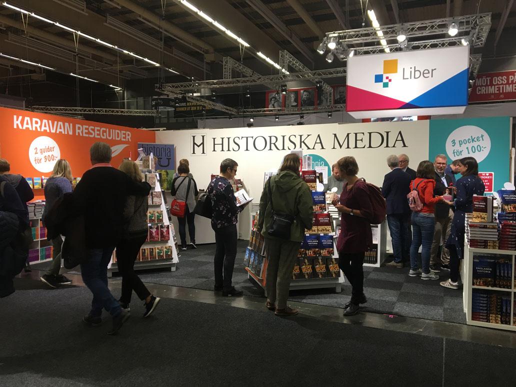 Historiska Media på bokmässan