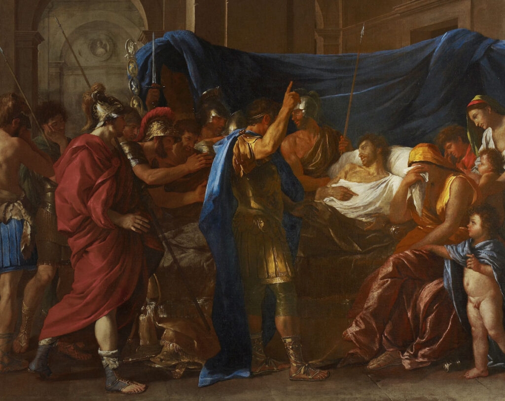 "Nicolas Poussin: ""The Death of Germanicus"""
