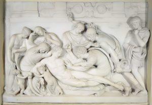 Germanicus död, marmorskulptur 1774