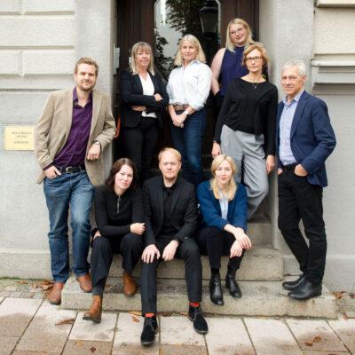 Gruppfoto av personalen, 2019
