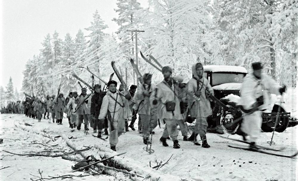 Finska vinterkriget: finska trupper