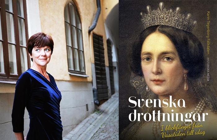 Karin Tegenborg Falkdalen - Svenska drottningar