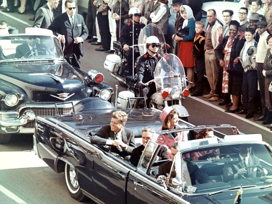 Kennedymordet - minuterna innan skotten